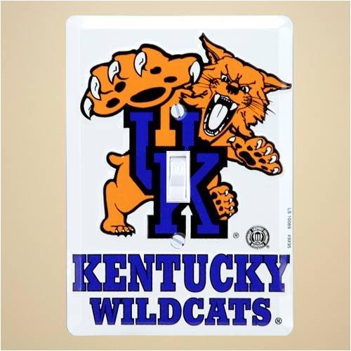 [Kentucky Wildcats Metal Light Switch Cover] (Oversize Light Switchplates)