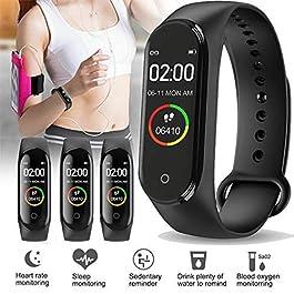 Alakazam AOV | M4 Smart Band Bluetooth Health Wrist Smart Band Monitor | Smart Health for Men & Women Activity Fitness Tracker Wrist Band – Watch / Health Bracelet / Smart Watch