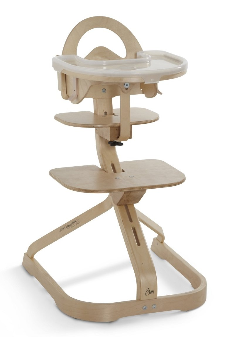 High Chair – Award Winning Svan Signet Complete High Chair with Removable Tray (Natural)