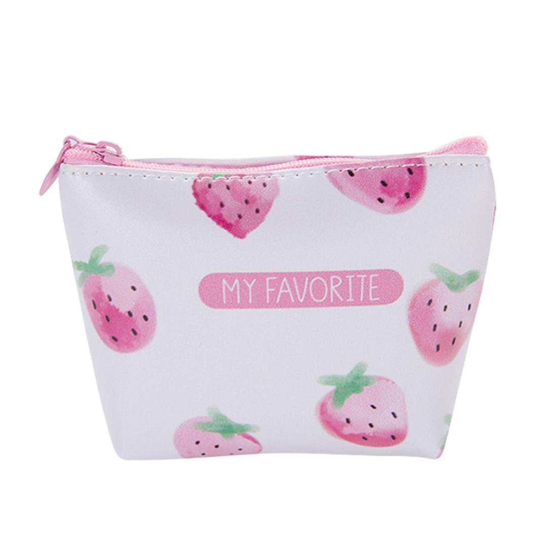 Creazy Women Girls Cute Fashion Snacks Coin Purse Wallet Bag Change Pouch Key Holder B