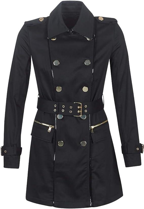 Guess Christina Trench M/äntel Damen Schwarz Trenchcoats Outerwear XS