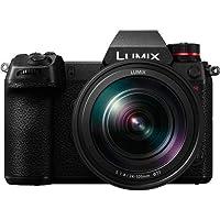 Panasonic DC-S1RMGA-K Lumix Mirrorless Digital Camera with 47.3MP Full-Frame MOS Sensor, Black
