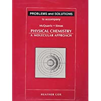 Student Solutions Manual for Physical Chemistry: A Molecular Approach