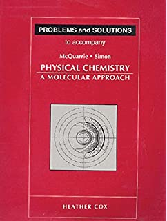 Physical chemistry solutions manual atkins 9780716731672 amazon problems and solutions to accompany mcquarrie and simon physical chemistry a molecular approach fandeluxe Image collections