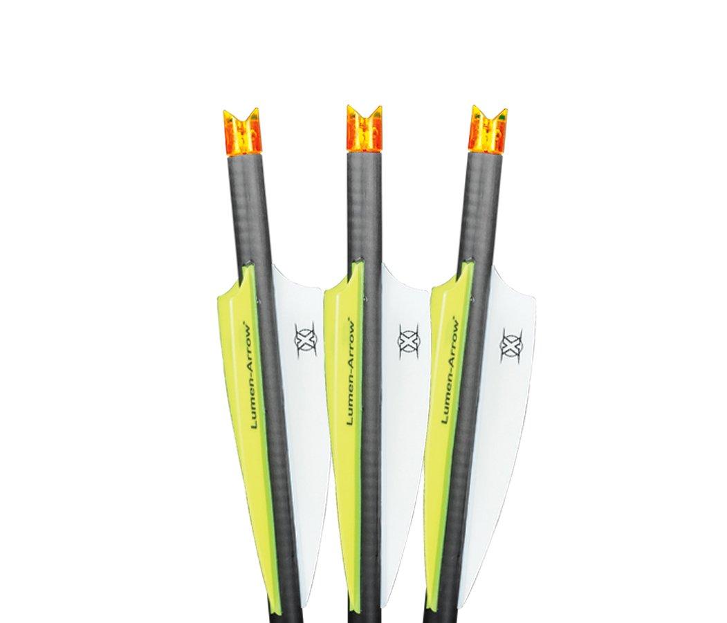 orange Lumenok lumen-arrow bolt 20, 3pk