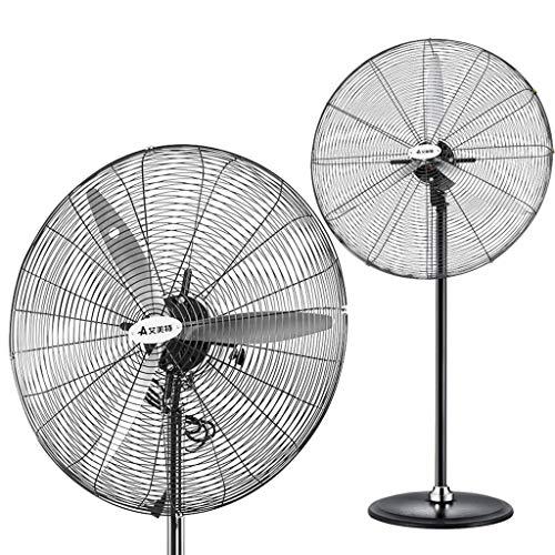 DLT Retro Oscillating Stand Pedestal Fan, Diameter 29inches/750mm, 3-Speeds Industrial Standing Fan, 120° Rotate, 3 Aluminum Blade, Copper Movement, ()