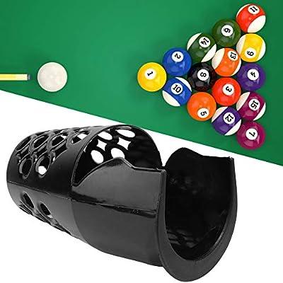 Borlai Mesa de Plástico Bolsillos de Billar Bolsillos de Billar Web Juego de 6 Bolsillos de Almacenamiento de Bolas de Billar: Amazon.es: Deportes y aire libre