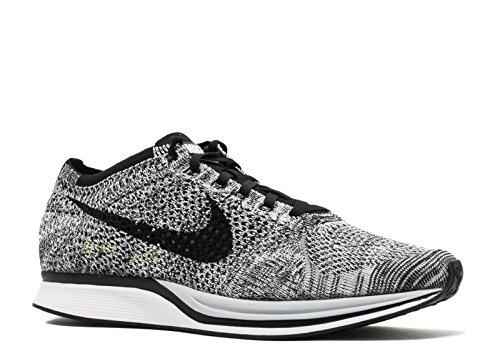 Zapatillas De Running Nike Unisex Flyknit Streak White / Black-volt