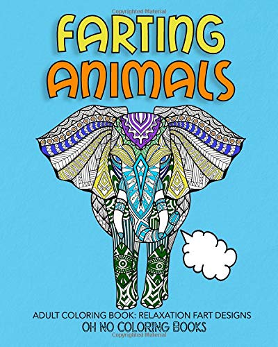 Pdf Crafts Farting Animals: Adult Coloring Book Relaxation Fart Designs