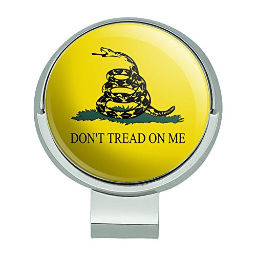 GRAPHICS & MORE Gadsden Flag Dont Tread on Me Tea Party Golf Hat Clip with Magnetic Ball Marker