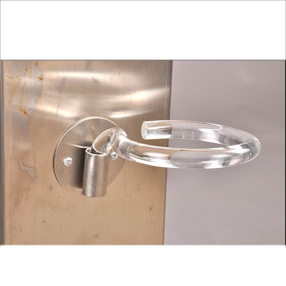 Soporte para secador de pelo para sal/ón de acero inoxidable galvanizado