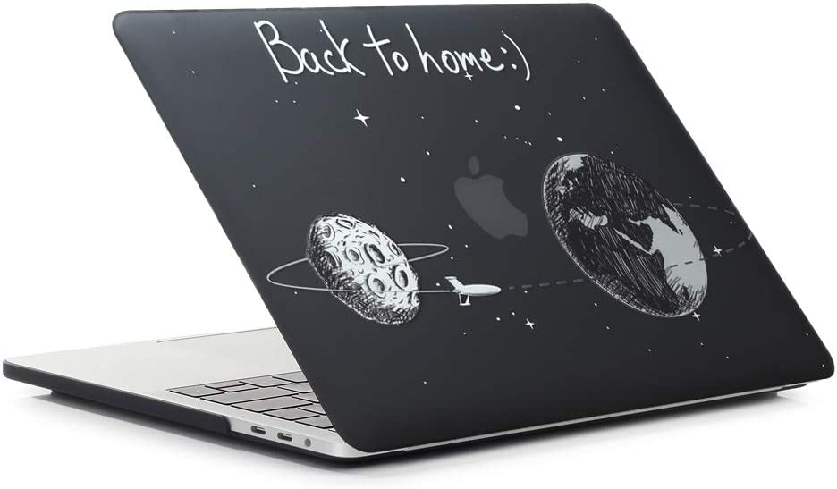 wh45 duck /& music MacBook Pro 13 Case 2018 2017 2016 Model A1989//A1708//A1706 AJYX Matte Plastic Hard Case Shell Cover Compatible Newest Macbook Pro 13 Inch with//without Touch Bar and Touch ID