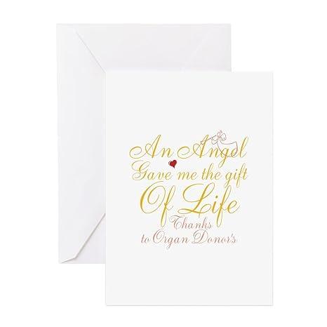 Amazon.com: CafePress – Un ángel Gave Me la tarjeta de ...