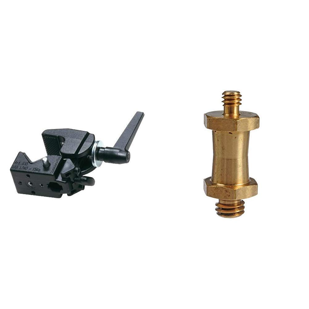 Manfrotto 035 Ftc Super Clamp /& 037 Camera Mounting Stud
