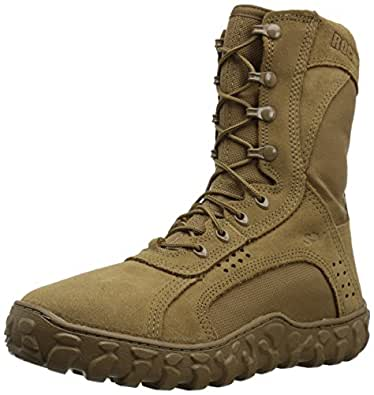 Rocky Men's RKC050 Military and Tactical Boot, Coyote Brown, 4 W US