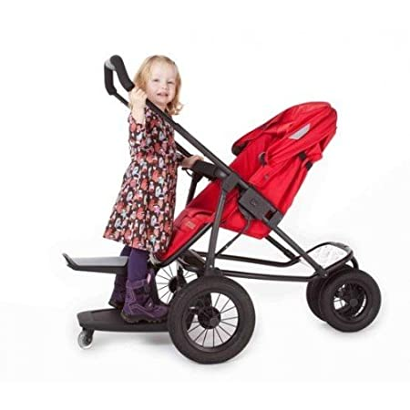 Kleine Dreumes Kid Sit Wheel Board and Seat - Orange