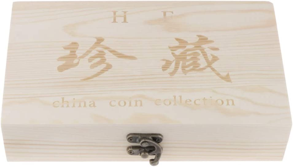 Dailymall 50 Coin Container Storage Box Holder Case Album Coin Display