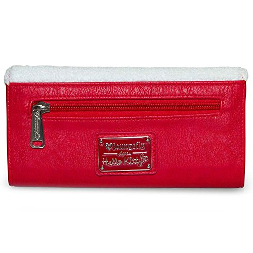 8299062d2 Loungefly X Hello Kitty Fish Bowl Tri-Fold Wallet in Red/White: Amazon.co.uk:  Clothing