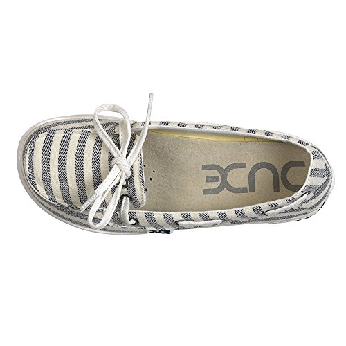 Moka Strisce Shoes Donna Classiche Blu Dude RS56qnp 4b085f56a6d
