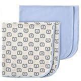 Gerber Baby 2-Pack Thermal Receiving Blanket, Hello