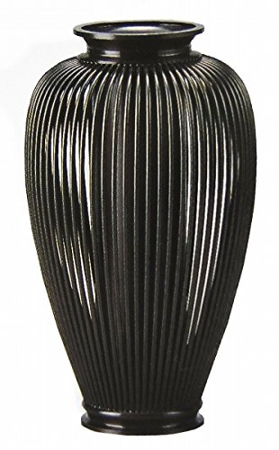 『透し夏目花器』銅製 【オブジェ置物】【R208】 B074NZHWFZ