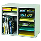 Safco Products Wood Adjustable Literature