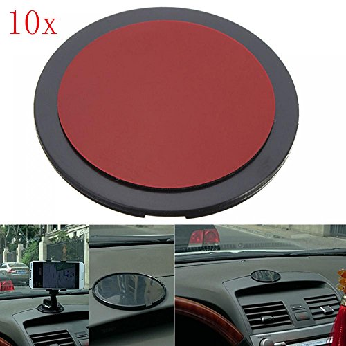 MAXGOODS Adhesive Disc Dashboard Mounting for Car Dashboards