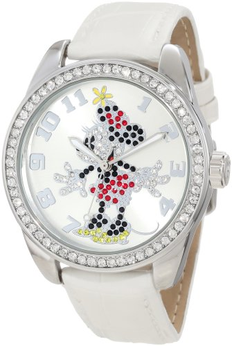 Ingersoll Women's IND 25741 Disney Minnie Mouse Watch with White Band