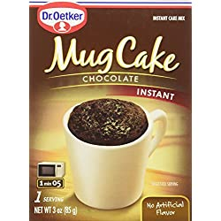 Dr. Oetker Instant Mug Cake Mix - Chocolate - Single Serving (Pack of 3)