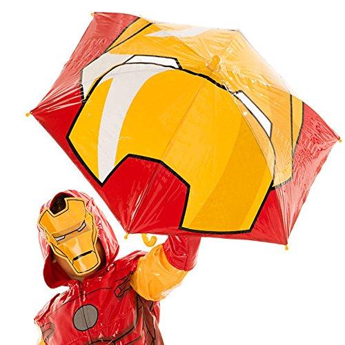 Disney Store Deluxe Iron Man Umbrella Marvel Civil War Avengers by Interactive Studios (Image #1)