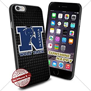 Nevada Wolf Pack, Men's Basketball NCAA Sunshine#4327 Cool iPhone 6 - 4.7 Inch Smartphone Case Cover Collector iphone TPU Rubber Case Black