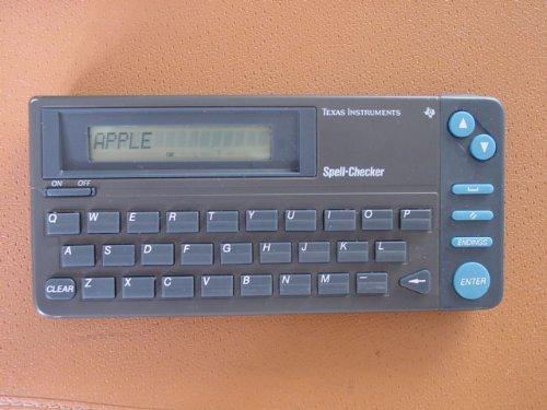 Vintage Texas Instruments Spell Checker ... RR - 1