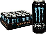Lo-Carb Monster Energy, Energy Drink, 16 Ounce (Pack of 24)