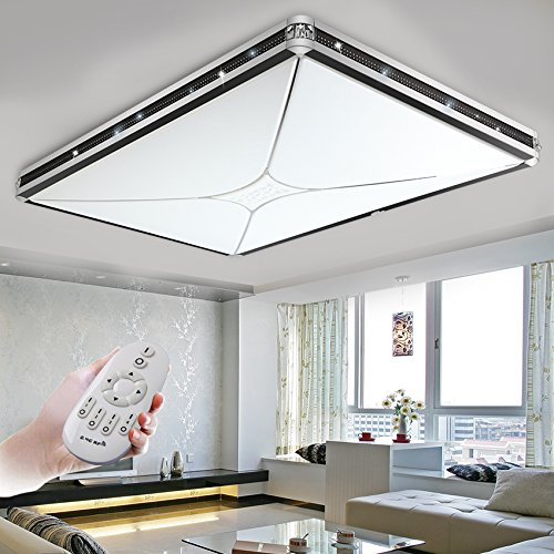 BLYC- Moderne minimalistische rechteckige 72W Höhepunkt führte Decke Lampe Zimmer Lampe Schlafzimmer Wohnzimmer Beleuchtung Hauptverbesserung Studienmaterial in der Atmosphäre 970 * 650mm