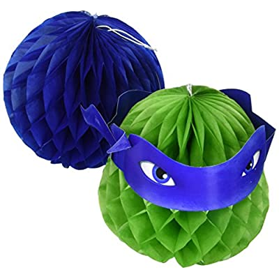Amscan TMNT Honeycomb Decorations, Party Favor: Toys & Games