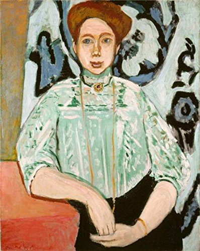 'Greta Moll 1908 By Henri Matisse' Oil Painting, 18x23 Inch / 46x57 Cm ,printed On Perfect Effect Canvas ,this High Resolution Art Decorative Canvas Prints Is Perfectly Suitalbe For Home Office Artwork And Home Decoration And Gifts ()