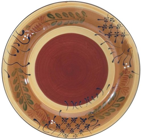 Ambiance Collections Dinnerware - Ambiance Romance 11-Inch Dinner Plate, Set of 4