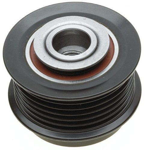 ACDelco 37015P Professional Alternator Decoupler Pulley with Dust Cap