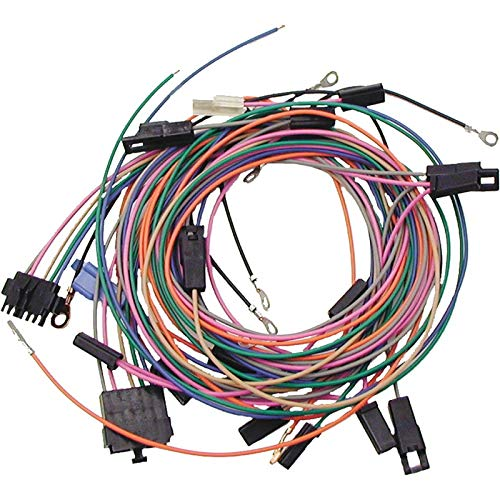 Eckler's Premier Quality Products 33185413 Camaro Console Gauge Pod Wiring Harness Kit AutoMeter