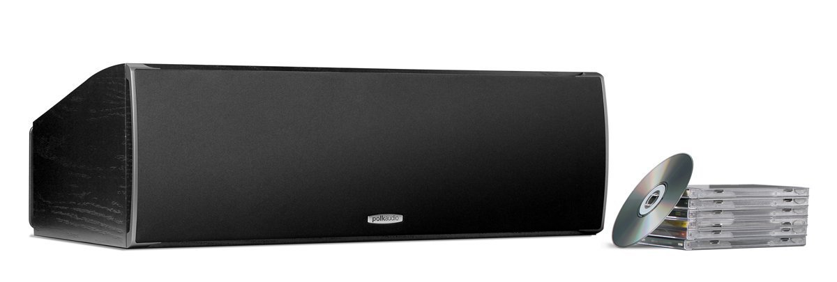 Polk Audio CSI A6 Center Channel Speaker (Single, Black) by Polk Audio