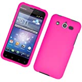 Pink Hard Plastic Case Cover for Huawei M886 Mercury Glory w/ rubberized texture coating