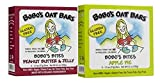 Cheap Bobo's Oat Bars Gluten Free Bobo's Bites 2 Flavor Variety Bundle: (1) Bobo's Bites Peanut Butter & Jelly, and (1) Bobo's Bites Apple Pie, 6.5 Oz. Ea. (2 Boxes Total)