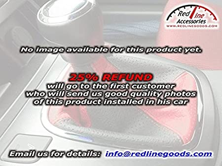 RedlineGoods Re-Shipping of a misplaced Shipment Compatible with reship reship Black Leather-Black Thread