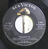 Ray Ellis and His Orchestra 45 RPM Parlami De Me / La Dolce Vita