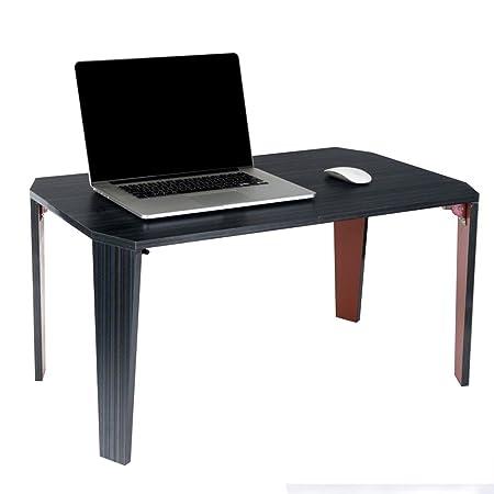 HANSHAN Mesa Auxiliar Mesa para Computadora Portátil, Cama con ...