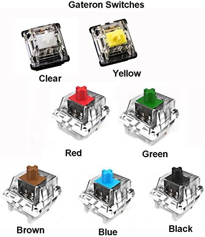 Gateron 3 Pin Switch 5 Pin Switch Smd Switch Replacement For Mx And Kailh Switches Of Mechanical Keyboard 20pcs Amazon Ca Electronics