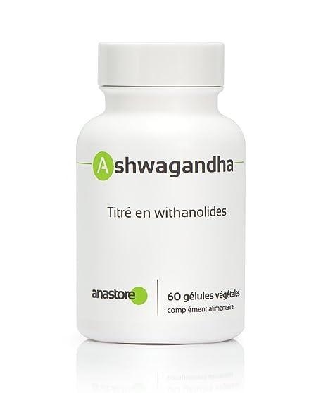 ASHWAGANDHA * 400 mg / 60 cápsulas * Energia (fatiga), Equilibrio emocional, Sexualidad (líbido, sexualidad hombre), Sueño * Garantía de satisfacción o ...