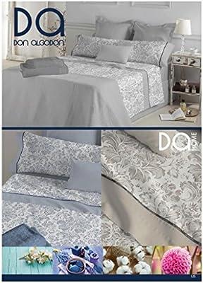 Don Algodón.- Juego de sábanas Lis color Beige para cama de 105: Amazon.es: Hogar