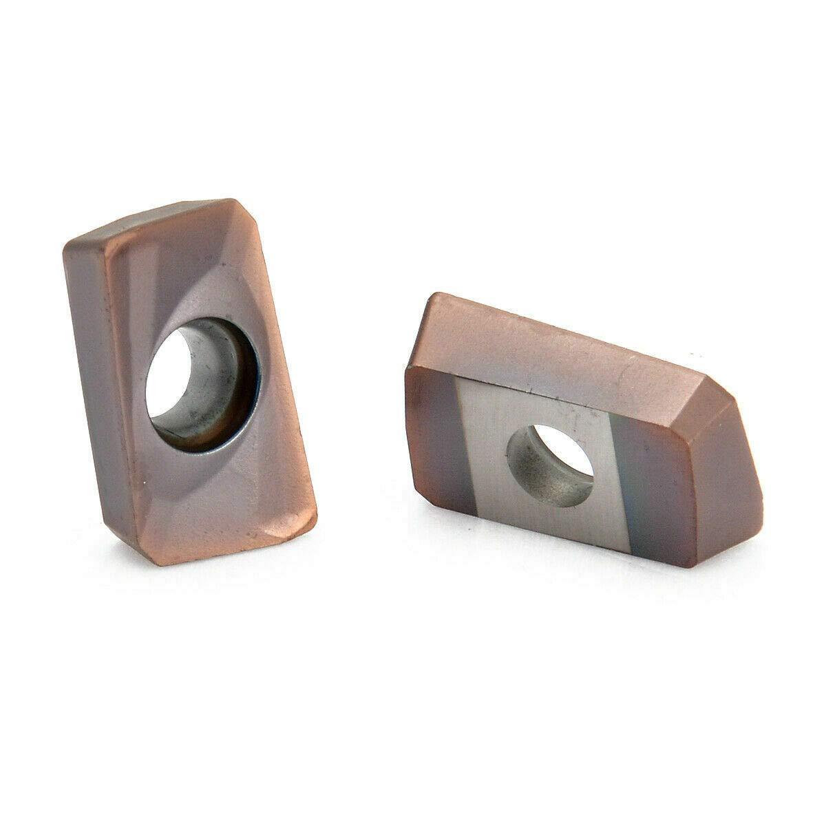 10pcs Apmt1604pder-h2 Carbide Inserts Apkt1604 25r0.8 Indexable Blades for sale online