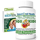 Chewable Children's Oral Probiotics ~ Dentist Formulated 30 Tablet Bottle ~ Seven Strains With Blis K12 & M18 ~ Probiotics For Kids ~ 83 Page eBook Included Review